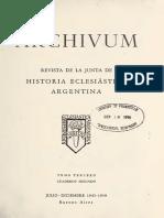 Archivum. Primer Párroco de Santa Fe