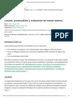 Causas, Presentación y Evaluación de Masas Selares