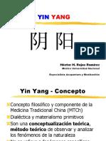 Yinyang y Medicina Tradicional China- 2013