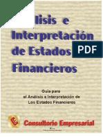 Guia Practica para el analisis de los estados financieros