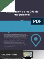 Clasificación de Los GPS de Uso Personal