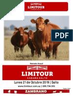 Catálogo Limitour