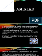 Amistad POWER POINT