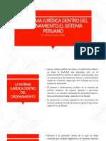 Jeraraquia de Normas en El Peru Estructura