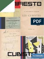 Manifiesto Cubista - Guillaume Apollinaire
