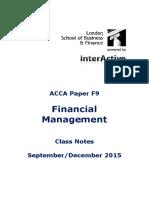 F9 Class Notes Sept-Dec 2015 FINAL as at 5 June 2015