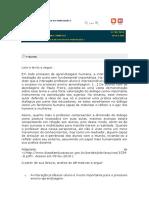 Avaliando Aprendizado - Prática de Ensino e Estágio Sup. Português I - Aula 1 - Daniel Corbetta