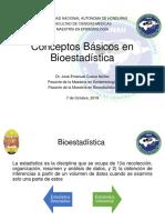 1 Conceptos Básicos en Bioestadística