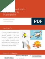 Socialización Documentos de Investigación