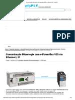 Comunicação Micrologix Com Powerflex 525 via Ethernet _ IP - InfoPLC