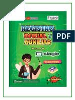 Nuevo Registro Descriptivo
