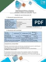 Guía de Actividades y Rúbrica de Evaluación - Paso 3 - Resolver Estudio de Caso A2- Manejo de La Intoxicación