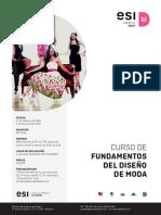 Curso Fundamentos del Diseño de Modas
