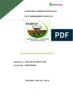Proyecto Malteada de Quinua Sabor Frutilla