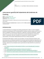 Descripción general del tratamiento del síndrome de Cushing - UpToDate.pdf