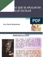 Inmunizacion y Salud Oral Con Video