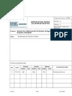 Especificaciones Tecnicas Material de Puesta a Tierra