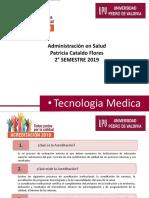 Presentacion ADM en Salud 2019-2 Tecmed
