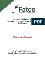 Aula 1 - Exercicio 1 - Matematica Discreta