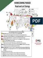 2019 Homecoming Parade Rd Lot Closings
