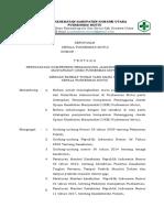 Ep.5.1.1.1 Sk Tentang Persyaratan Kompetensi Penanggung Jawab Ukm