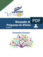 Formacion Humana Unidad 1 Del Modulo 1