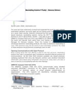 An Open Electronic Marshalling Solution