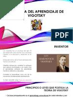Teoria sociocultural de Vigotsky
