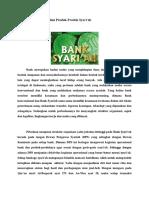 Analisis Bank Syariah Dan Produk