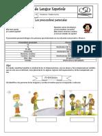 Los Pronombres Personales Actividades y Juegos Comprension Lectora Ejercicio 43960