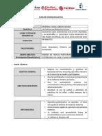 Plan de Sesion Educativa 1