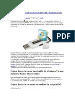 Como Instalar Windows 7 Desde Una Carpeta Local