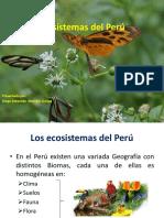 Ecosistemas Del Perú