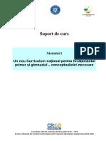 CRED G M1 Suport de Curs Curriculum