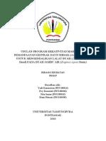 USULAN PROGRAM KREATIVITAS MAHASISWA PEMANFAATAN EKSTRAK DAUN SIRSAK