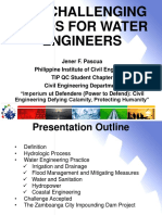 The Challenging Fields for Water Engineers by Engr. Jener f. Pascua