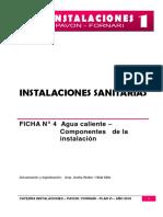 Ficha 4 Agua Caliente - Componentes
