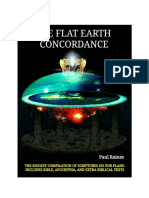The Illustrative Flat Earth Concordance by Paul Raines