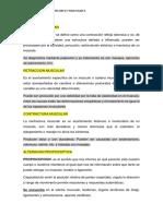 Alteraciones II Tema i Espasmo, Retraccion..