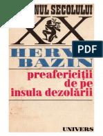 Herve Bazin - Preafericiții de pe Insula dezolării 1974