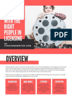 Connect With The Right People In Licensing guide (Music)