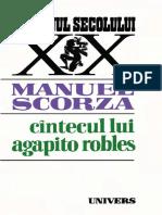 Manuel Scorza - Cântecul lui Agapito Robles 1983
