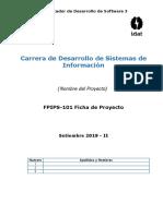 FPIPS-101- Ficha Del Proyecto
