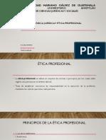 VI MODULO Etica Profesional Nociones y Principios 12 10 2019