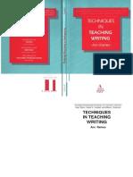Techniques in Teaching Writing (Raimes)