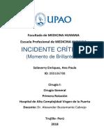 Incidente Critico 4 Ta Rotacion