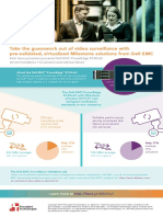 Take the guesswork out of video surveillance with pre-validated, virtualized Milestone solutions from Dell EMC - Infographic