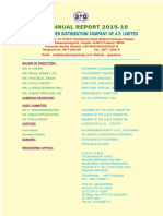 16th Annual Report APSPDCL