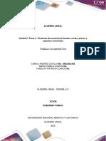 Unidad 2 Tarea 2  Sistemas de ecuaciones lineales, rectas, planos y espacios vectoriales.....docx