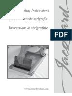Instrucciones Serigrafia